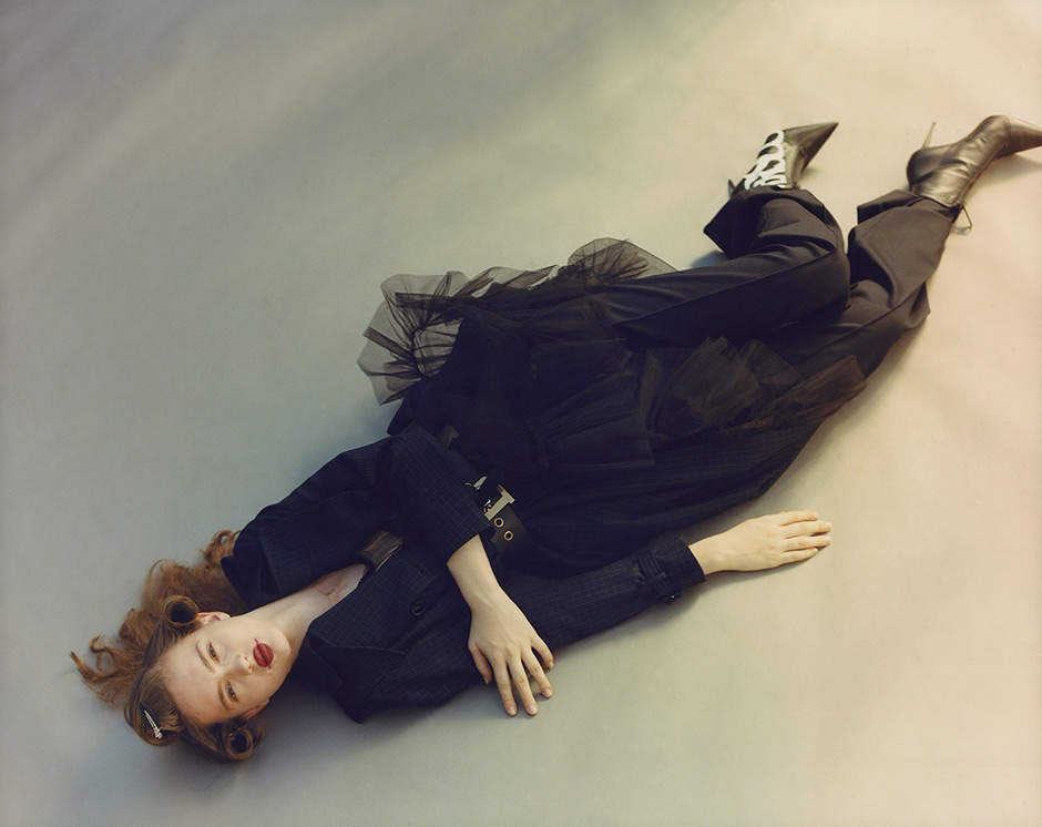 """The Fall of Alice"". Fotografía de Erik Von Frankenberg. Estilismo de Berta Álvarez."