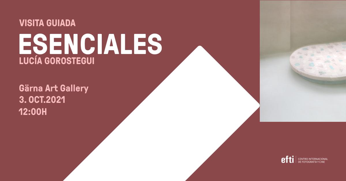 """""""ESENCIALES"""", la nueva exposición de Lucía Gorostegui / Profesora EFTI"""