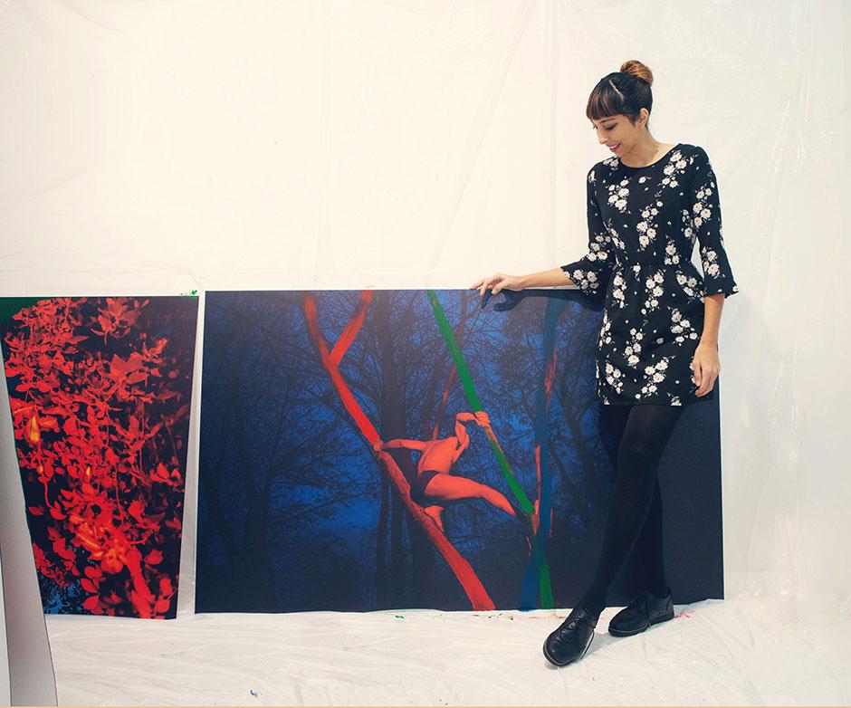 """""""RGB"""" de Irene Cruz en PHotoEspaña / Antigua alumna del Máster de EFTI"""