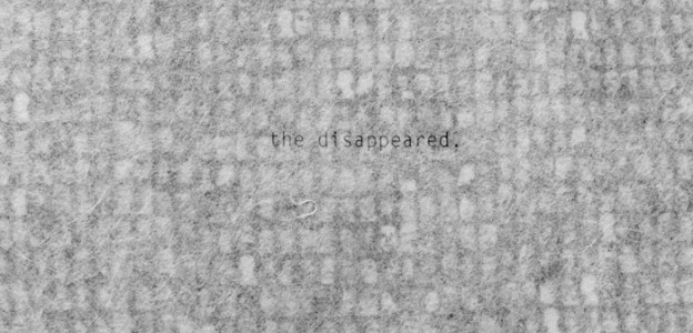 The Disappeared. Verónica Fieiras