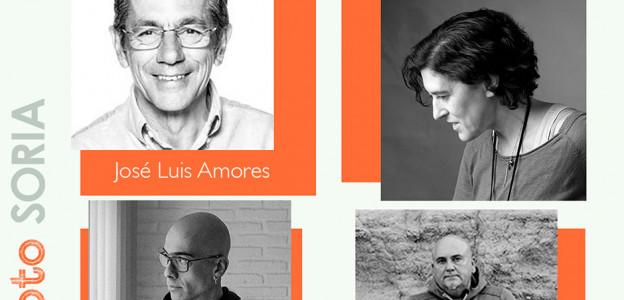 José Luis Amores, Sofía Moro, Eduardo Martín García y Carlos Puga. Jurado de Porfolios On Photo Soria 2021