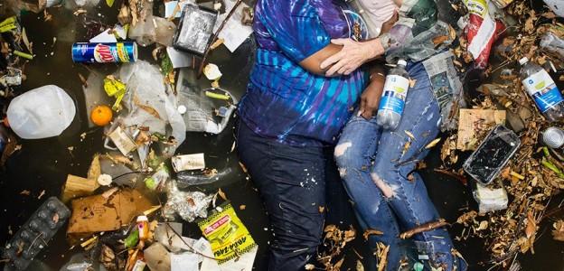 Gregg Segal, de su proyecto 'Seven days of garbage'