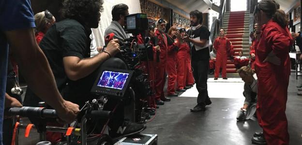 La Casa de Papel / Director de Cine Álex Rodrigo @Keila Morcillo